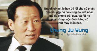 Chung Ju Jung chủ tịch tập đoàn Hyundai