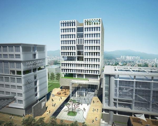 Trường Đại học Hansung là một ngôi trường hiện đại tại Hàn Quốc